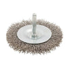 75mm Rotary Stainless Steel Wire Wheel Brush