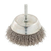 75mm Rotary Stainless Steel Wire Cup Brush