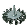 75mm Rotary Steel Twist-Knot Wheel