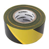 Silverline 70mm x 500M Yellow/ Black Barrier Tape