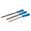 Silverline 3pc Plastic Handle File Set