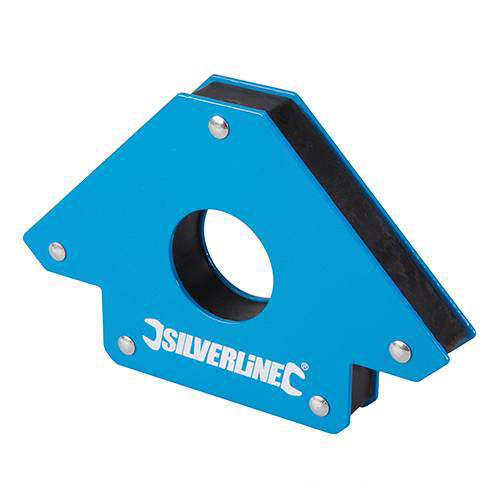 Silverline 125mm Welding Magnet (45, 90 & 135 Degrees)