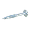 7 x 1 1/4'' Zinc Washer Head Pocket-Hole Screw (250pk)