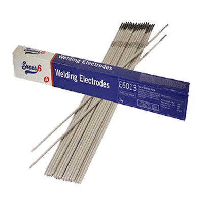 Super 6 E6013 4mm Mild Steel Electrodes (1Kg)