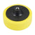 Yellow 150mm x 50mm Polishing Sponge - Coarse (M14)