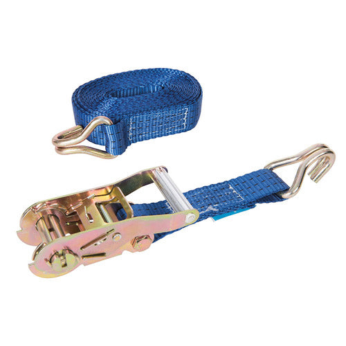 2 Tonne Heavy Duty Cargo Straps (6M x 38mm)