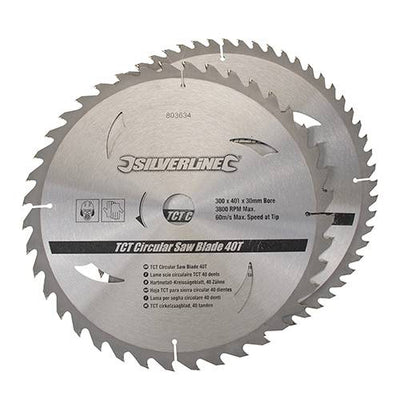 SIP 12'' Sliding Mitre Saw with Stand & 2 FREE Blades