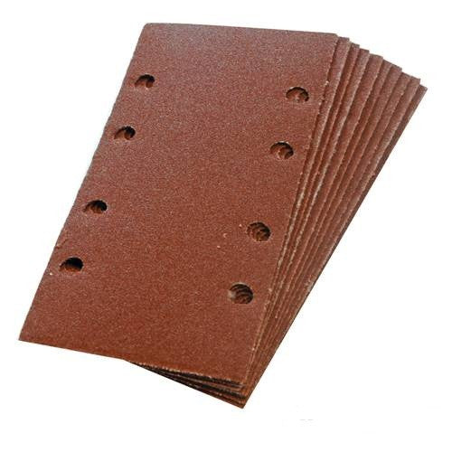 1/3 Punched Hook & Loop Sheets 120 Grit (10pk)