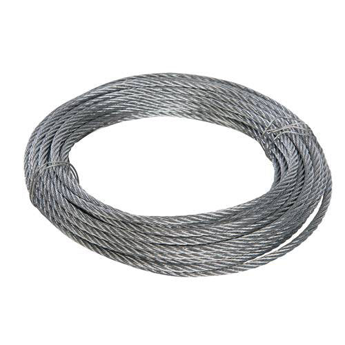 Fixman 4mm x 10M Galvanised Wire Rope
