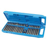 40pc Hex, Torx & Spline Bit Set (3/8 & 1/2'')