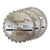 Silverline 235mm 3pk TCT Circular Saw Blade (24, 40, 48T)