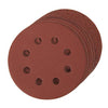 115mm Hook & Loop Discs (4 x 60, 2 x 80, 120, 240G) (10pk)