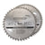 Silverline 10'' 250mm 2pk TCT Circular Saw Blades (40 & 60T)