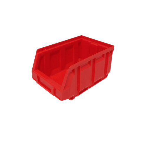 No. 2 Red Storage Parts Bin (160 x 105 x 75)