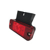 12/ 24v Red LED Side Marker Lamp with Bracket