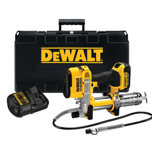 DeWalt 18v DCGG571 Cordless Grease Gun (x1 4Ah Battery)