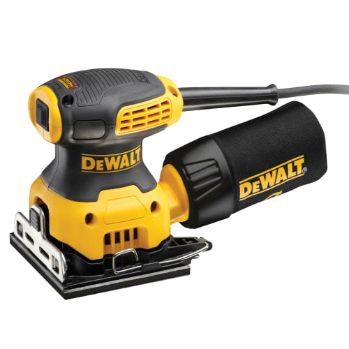 DeWalt 1/4'' Sheet Palm Sander 230w (110v)