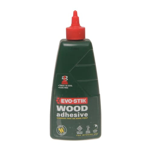 Evo-Stick 715615 Resin Wood Adhesive (500ml)
