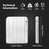 Futura 1000w Eco Slimline Low Energy Electric Radiator