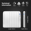 Futura 1500w Eco Slimline Low Energy Electric Radiator