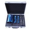Faithfull 7pc Diamond Core Drill Kit & Case (38, 52 & 117mm)