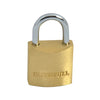Faithfull 20mm Brass Padlock (3 Keys)