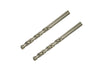 6mm HSS Steel Drill Bits (2 Pack)