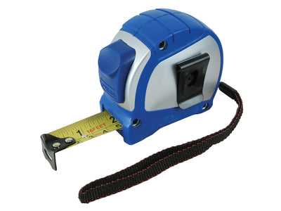 Faithfull 5M (16ft) Auto-Lock Measuring Tape (Width 25mm)