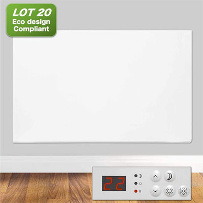 Futura Eco 1000w Electric Panel Heater (Countdown Timer)