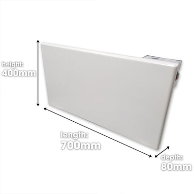 Futura Eco 1500w Electric Panel Heater (Countdown Timer)