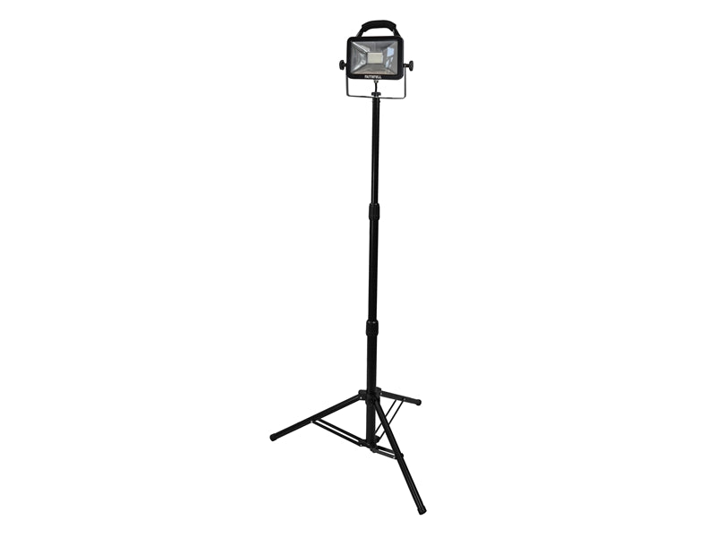 Faithfull 20W Single Tripod Site Light 1800 Lumen (110v)