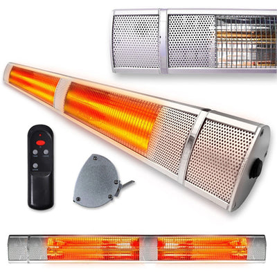 Futura 2500w Deluxe Wall Mounted Electric Infrared Heater