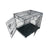X Large Metal Folding Dog Crate (90.5L x 57W x 63.5Hcm)