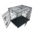 XX Large Metal Folding Dog Crate (106L x 70W x 76.5Hcm)