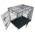 XXX Large Metal Folding Dog Crate (122L x 74.5W x 80.5Hcm)