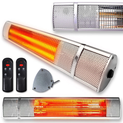 Futura 2000w Wall Mounted Electric Infrared Patio Heater