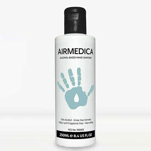 Airmedica 250ml 70% Alcohol Hand Sanitiser