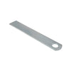 Anti Luce Latching Plate 250 x 40 x 5mm (Hole: 22mm)