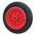 200 x 20mm PVC Solid Wheel (Plastic Centre with Bearing)