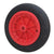 200 x 20mm PVC Solid Wheel (Plastic Centre - Plain)