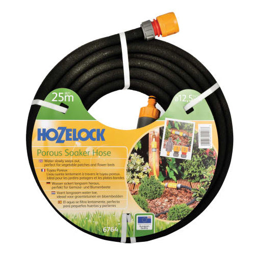 Hozelock 25M Porous Soaker Hose (1/2'' Connector)