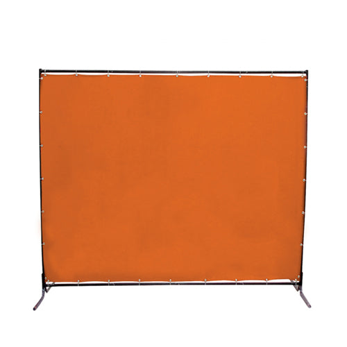 Jefferson 6 x 6ft Welding Curtain with Frame