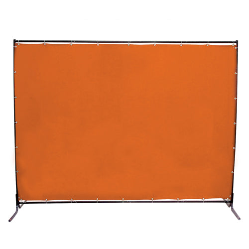 Jefferson 8 x 6ft Welding Curtain with Frame
