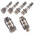 6pc 1/4'' Slimline Male & Female Air Fitting Set