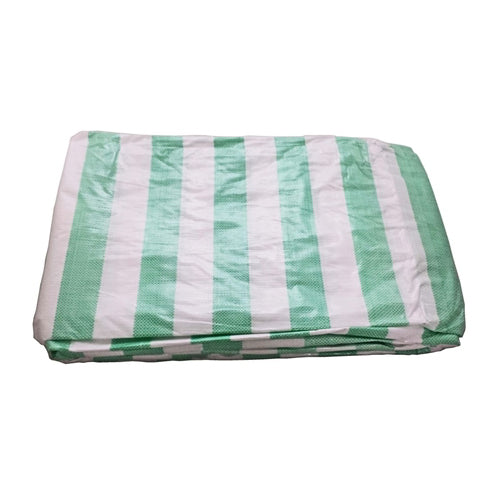 3.5 x 5.5M Heavy Duty Striped Tarpaulin
