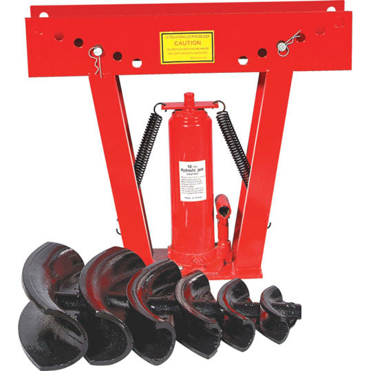 12 Ton Hydraulic Pipe Bender (1/2'' - 2'')