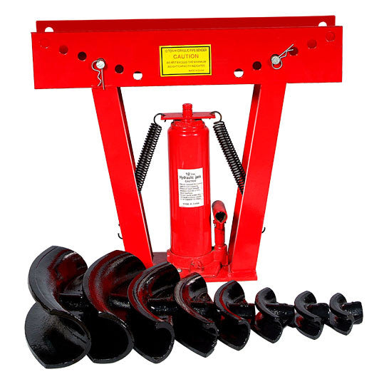 16 Ton Heavy Duty Hydraulic Pipe Bender (1/2'' - 3'')
