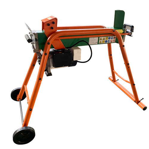 6 Ton Horizontal Electric Log Splitter c/w Stand