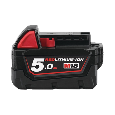 Milwaukee 18v 5Ah Red Lithium-ion Battery