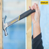 Stanley 16oz (450g) Fibreglass Shaft Curved Claw Hammer